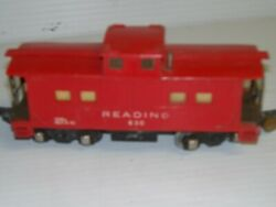 American Flyer 638 Caboose And Reading 630 Lighted, Caboose, Used, C-5, Fl 1
