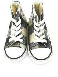 Converse Woolrich Ctas Hi White Black 760134f Baby Infant Toddler Size 6 New