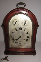 Antique Quarter Hour Westminster Chime Bracket Clock Wurttemberg, Germany 8-day