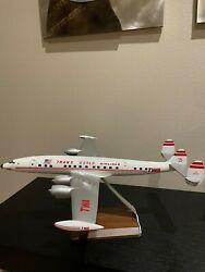 Vintage - 172. Pacmin Twa Lockheed Constellation Display Airplane Model
