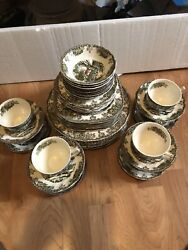 Johnson Brothers Friendly Village Service For Eight Plus Serving = 52pcs