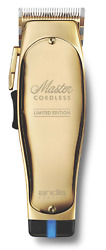 Andis Master Cordless Limited Edition Gold Clipper 12540 Lithium-ion