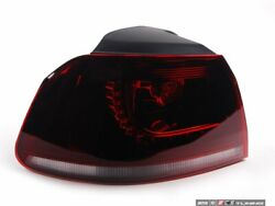 Ziza - Led Tinted Tail Light - Dark Cherry - Left Outer - 5k094105556lo