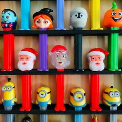 85 Wall Pez Dispenser Display Holds 85 22 X 30.5 Pine Wood Paint Stain Options