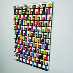 102 Wall Pez Dispenser Display Holds 102 22 X 36 Pine Wood Paint Stain Options
