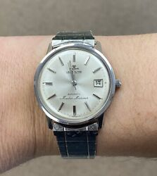 Lecoultre Master Mariner Automatic With Original Lecoultre Stainless Steel Band