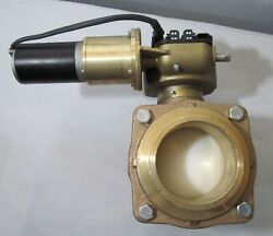 New Akron 3.75 Swing-out Valve With Electric Actuator For Fire Truck