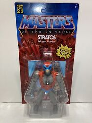Masters Of The Universe Origins Stratos Action Figure Free Ship