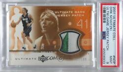 2001 Upper Deck Ultimate Collection Game Jersey /100 Dirk Nowitzki Psa 9 Patch