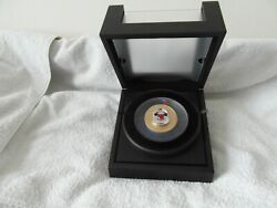 Rare The 2020 Masterpiece [spitfire] 24ct Gold-plated Silver 5oz Poppy Coin.