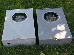 Lot Of 2 Landis And Gyr Meter Sockets 3 Phase