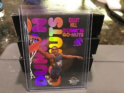 Skybox E-x Century Dunk N Go Nuts Pistons Grant Hill 1998-1999