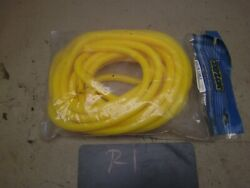 Taylor Cable 3/8 Yellow Wire Loom Hot Rat Rod Project Cover Holder Hotrod Cool