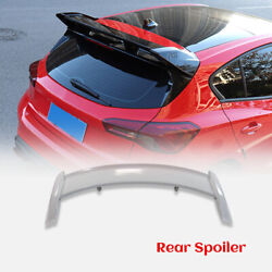 For 19-20 Ford Focus Mark 4 Rs Type Frp Unpainted Rear Spoiler Roof Wing Bodykit