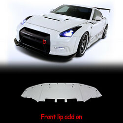 Vrs Style Frp Front Diffuser Undertray Bumper Lip For Nissan Gtr R35 2013 Ver