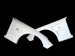 For Mazda Rx7 Fd3s Bn Style Frp Unpainted Front Fender Wide Body +25mm