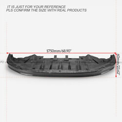 For Nissan R35 2012+ Gtr Oem Carbon Fiber Front Lip With Undertray Bodykits