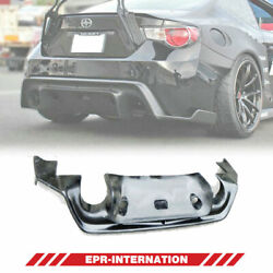 Ver 1 Rear Diffuser Under Spoiler Fit For Subra Ft86 Brz Rb Style Carbon Glossy