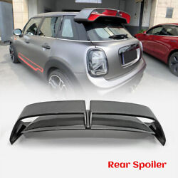 For F55 F56 Mini Cooper Carbon Fiber Gp3 Style Rear Spoiler Roof Wing Exteiror