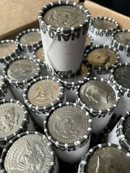 Unsearched Half Dollar Coin Roll +700 Rolls Sold
