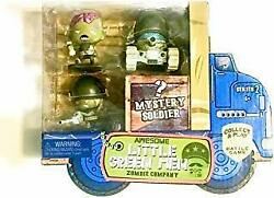 Awesome Little Green Men 4 Pc Starter Pack Series 2- Zombie Company Action Fi...