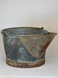 19th Century Copper Winemakerand039s Basin With Two Handles And Beak 30