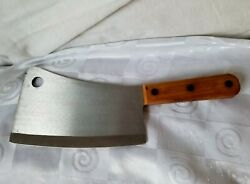 Chicago Cutlery Pc-1 Cleaver 7 Stainless Blade Professional Chef Butcher Low Mi
