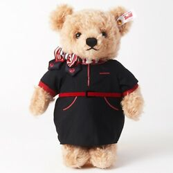 Steiff X Japan Airlines Jal Cabin Attendant Teddy Bear Special Limited Edition