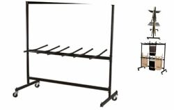 Two-tier Folding Chair Dolly Black Nor-fei1018-so