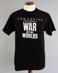 Tom Cruise Signed T-shirt War Of The Worlds W/ Katie Holmes – Coa Jsa Ultra Rare