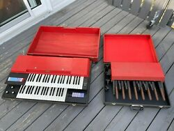 Rare Vintage 1970 Italy Elka Panther Duo Combo Organ And Pedals Sold For Project