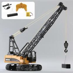 Huina 1/14 15ch Rc 572 Construction Crane Truck Tower Excavator Car Toy Model