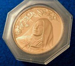 St. Therese Of Lisieux Bronze Medal - Special Issue - Mintage Of 813 - See Pics