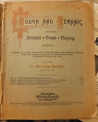 Antique Touch And Technic Artistic Piano Playing Andcopy1919 By Dr William Mason