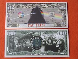 Pink Floyd Band 1000000 One Million Dollar Bill Roger Waters David Gilmour