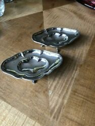 A Pair Of Matching Silver Plated Sweet/nutandnbsp Dishes. Mappin And Webb