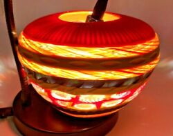 Sunset One Of Kind Murano Art Glass Vase By Massimiliano Schiavon And Light Box