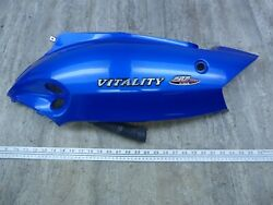 2005 Kymco Vitality 50 S410-1 Blue Left Side Body Cover Panel With Emblems