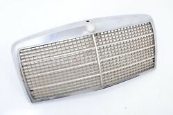 Mercedes Benz W116 S Class Front Chrome Grille Euro Used 280 300 350 450 Se Sel
