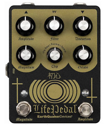 Earth Quaker Devices Life Pedal V2 Guitar Effector Upper Octave Distortion New