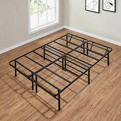 Queen King Full Twin Size Bed Frame 14 In Folding Platform Mattress Foundation