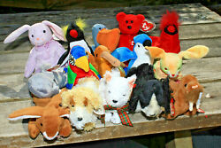 Ty Beanie Babys Lot Of 15 With Tags Lot 5