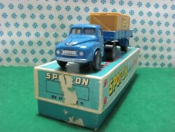 Vintage - Austin Prime Mover With Articulated With Crane - 1/42 Spot-on 106a/1c