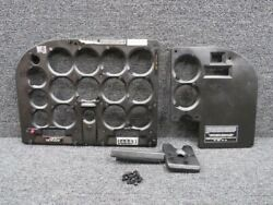 0701093-13 0701093-8 Cessna A185f Shock Panel Cover Set W/ Post Lights Lh And Rh