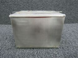 60-389033-1 / 178a3328p21 Beech B-60 Stainless Battery Box W/ Lid And Crossbar