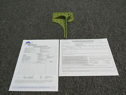 1213426-2 Cessna 210k Nose Gear Fitting Assembly Rh W/ 8130-3 And Magnaflux Zinc