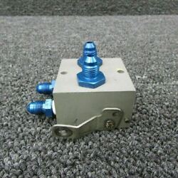 60-3a Piper Pa-31t Cleveland Parking Brake Valve Overhauled W/ Tag C20