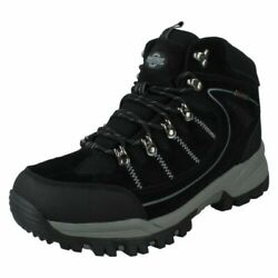 Mens Northwest Territory Casual Lace Up Suede Waterproof Hiking Boots Rae