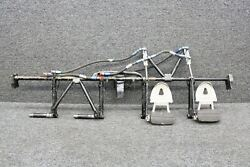 63459-018 Piper Pa32rt-300t Rudder Pedal Bar W/ Dual Brakes, Cylinders, And Hoses