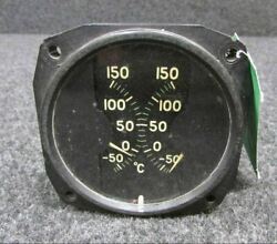 10736-a Electric Auto-lite Dual Carb. Air Temp. Indicator 12 Or 24 Volts Core